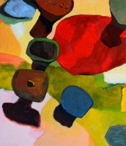 D LXXXVI, Acryl auf Leinwand, 150 x 130 cm, 2012