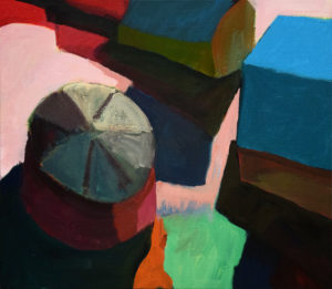 DORF LXIX, Acryl auf Leinwand, 80 x 90 cm, 2011