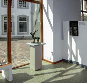 POTENTAT im Begashaus, Bronze, 42 cm hoch, 31 cm tief, (1997)