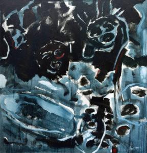 ARAWAK II, Acryl auf Leinwand, 200 x 190 cm, 1998