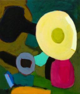 D LXXXVII, Acryl auf Leinwand, 70 x 60 cm