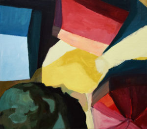 DORF LXX, Acryl auf Leinwand, 80 x 90 cm, 2011