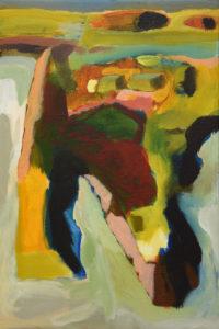 SALINE XI, Acryl auf Leinwand, 60 x 40 cm, 2006