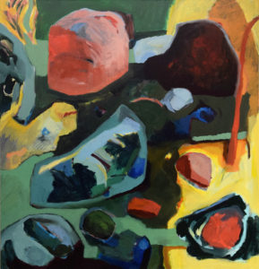 ARAWAK IV, Acryl auf Leinwand, 200 x 190 cm, 2005