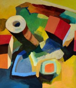 DORF LXXI, Acryl auf Leinwand, 150 x 130 cm, 2011