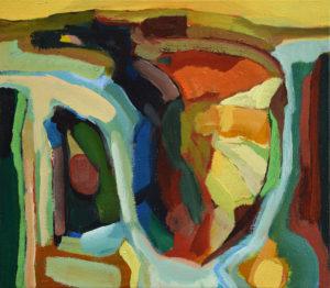 SALINE XIV, Acryl auf Leinwand, 35 x 40 cm, 2007