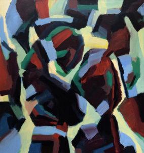 ARAWAK VI, Acryl auf Leinwand, 200 x 190 cm, 1999