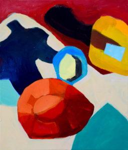 D XC, Acryl auf Leinwand, 70 x 60 cm, 2014