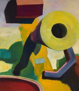 DORF LXXIII, Acryl auf Leinwand, 150 x 130 cm, 2011