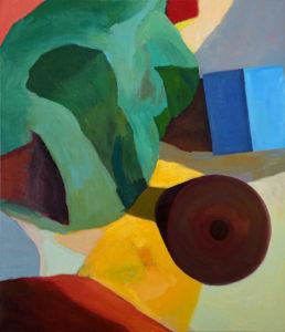 DORF LXXIV, Acryl auf Leinwand, 150 x 130 cm, 2011