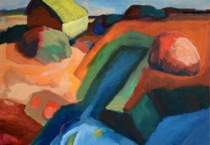 SALINE I, Acryl auf Leinwand, 70 x 100 cm, 2005