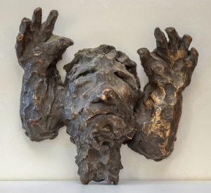 HIOB, Bronze, 25 cm breit, 1995