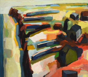DORF XXXI, Acryl auf Leinwand, 80 x 90 cm, 2007