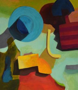 DORF LXXVII, Acryl auf Leinwand, 150 x 130 cm, 2012