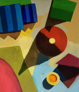 DORF LXXVIII, Acryl auf Leinwand, 150 x 130 cm, 2012