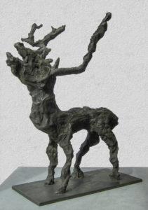 POTENTAT, Bronze, 42 cm hoch, 31 cm tief, 1997
