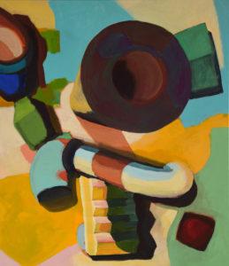 DORF LXXXIV, Acryl auf Leinwand, 150 x 130 cm, 2012